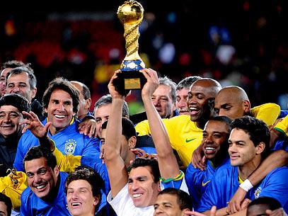 Brasil, campeão da Copa das Confederações 2009