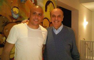Ronaldo e Serra, no Globo Online