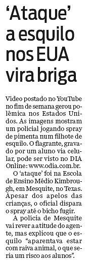 Jornal O Dia, 11.04.2011
