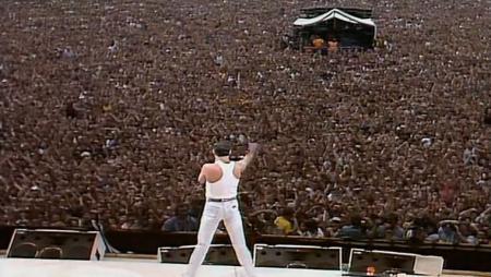 O Queen e seu ícone Freddie Mercury se apresentaram no Rock In Rio em 11 e 18 de janeiro de 1985