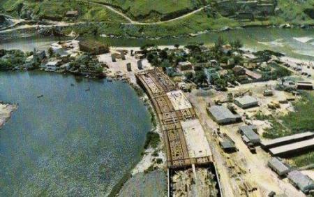 Construção da Auto Estrada Lagoa Barra - 1969