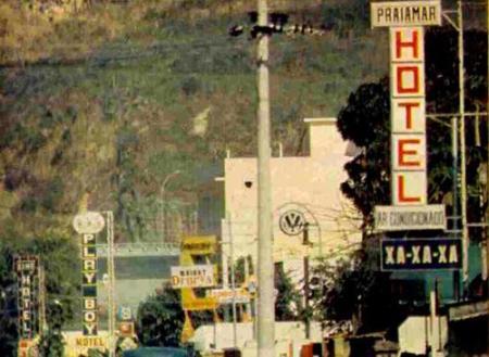 Rua dos Motéis, no Itanhangá, anos 70-80