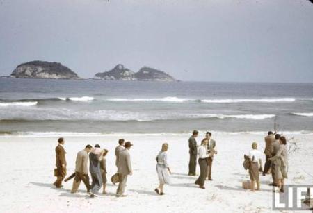 Da série de fotos a cores da Barra da Tijuca em 1940, feita pela Revista LIFE.