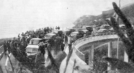 Viaduto das Canoas (Inauguração) - 1949