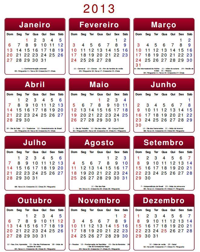 Calendarios 2013 Hello Kitty