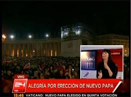 ereccion papa chile tv