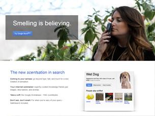 google nose imagem